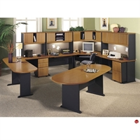 Picture of ADES Cluster of 4 Person Teaming Office Desk Workstation