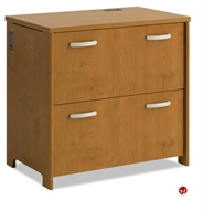 "Picture of Bush Envoy PR76354, 32"" 2 Drawer Lateral File Cabinet"