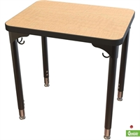 "Picture of 20"" x 26"" Height Adjustable School Training Table"
