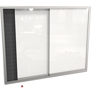 Picture of 4' x 6' Sliding Door Glass Cabinet