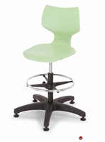 Picture of Bert Poly Shell Armless Task Stool Chair