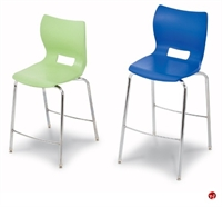 Picture of Bert Poly Shell Arrmless Stool Chair