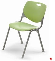 Picture of Bert Poly Armless Stack Classroom Chair