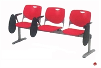Picture of Bert 3 Seat Beam Seating with Fold-A-Way Tablet