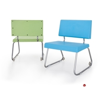 Picture of Bert Sled Base Armless Reception Lounge Modular Chair
