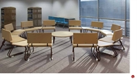 Picture of Bert Reception Lounge Sled Base Modular Chairs, 10 Seat, Connecting Tables
