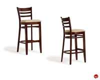 Picture of Cafeteria Dining Wood Barstool