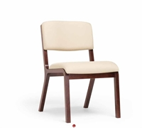 Picture of Guest Side Reception Wood Armless Chair