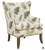 Picture of Hekman 1025 Sarah Reception Lounge Wing Arm Chair