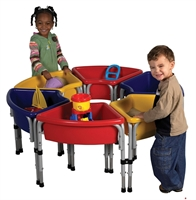 Picture of Astor Kids Sandbox Play Platform, Indoor/Outdoor