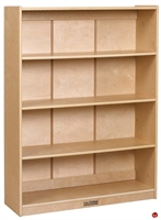 "Picture of Astor 48""H Wood Open Bookcase"
