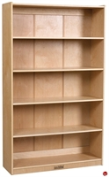 "Picture of Astor 60""H Open Wood Bookcase"