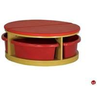 """Picture of Astor 32"""" Round Reading Bench"""