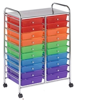 Picture of Astor Mobile Tray Organizer Cart