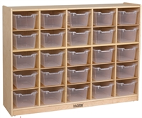 Picture of Astor Open Shelf Wood Locker Cabinet
