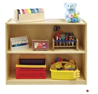 Picture of Astor 2 Shelf Open Wood Storage