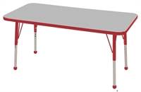 "Picture of Astor 24"" x 48"" Height Adjustable School Activity Table"