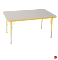 "Picture of Astor 24"" x 60"" Height Adjustable School Activity Table"