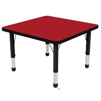 "Picture of Astor 30"" Square Height Adjustable School Activity Table"