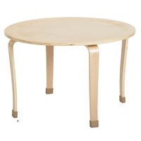"Picture of Astor 30"" Round Wood Table"