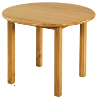 "Picture of Astor 30"" Round Kids Wood Table"