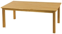 "Picture of Astor 24"" x 48"" Kids Play Wood Table"