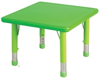 "Picture of Astor 24"" Square Height Adjustable Activity Resin Table"