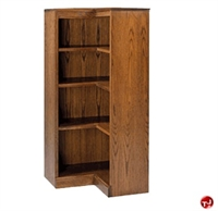 Picture of Hale 200 Series 4 Shelf L Shape Open Corner Bookcase