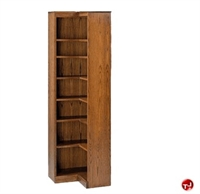 "Picture of Hale 200 Series 84""H 7 Shelf Corner L Shape Open Bookcase"