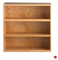"Picture of DEVA 36""H Open Shelf Chemical Wood Bookcase"