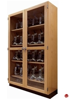 Picture of DEVA Double Galss Door Microscope Storage Cabinet