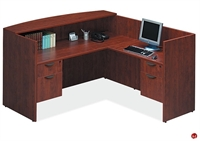 Picture of COPTI  L Shape Reception Desk Workstation