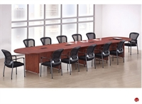 "Picture of COPTI 18' x 48"" Racetrack Conference Table"