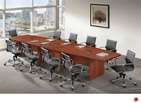 Picture of COPTI 16' Boat Shape Laminate Conference Table