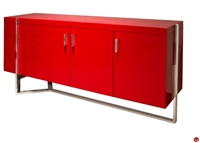 Picture of COX Contemporary Storage Credenza, Steel Base