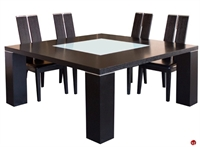 "Picture of COX Contemporary 64"" Square Wood Dining Table"