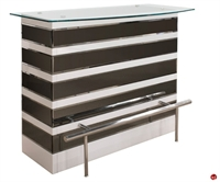 Picture of COX Contemporary Glass Top Bar Counter