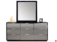 Picture of COX Contemporary Bedroom Dresser with Mirror