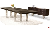 Picture of COX Contemporary Veneer Conference Dinng Table with Buffet