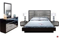 Picture of COX Contemporary Bedrooom Suite, Dresser Mirror with Nightsand