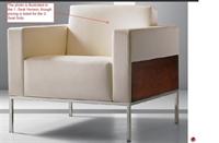 Picture of Cumberland Alia Metal Contemporary 2 Seat Sofa