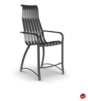 Picture of Homecrest Andover Aluminum Outdoor Stool Chair