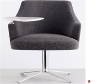 Picture of Cumberland Clover Reception Lounge Swivel Tablet Arm Chair