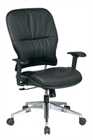 Picture of Ergomomic Mid Back Leather Office Task Chair