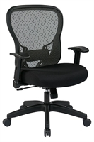 Picture of Ergonomic Mid Back Office Task Mesh Chair with Adjustable Lumbar