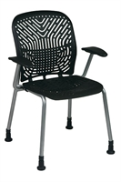 Picture of Ergonomic Heavy Duty Plastic Guest Visitor Chair, Pack of 2