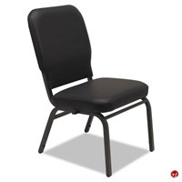 Picture of Bariatric Guest Side Armless Vinyl Chair, Set of 2