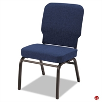 Picture of Bariatric Guest Visitor Side Armless Chair, 500 Lbs, Set of 2