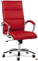 Picture of Contemporary High Back Red Office Conference Chair