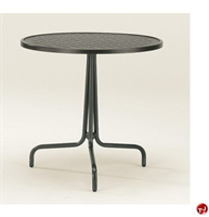"Picture of GRID Outdoor Wrough Iron 30"" Round Dining Table"